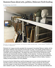 Link to Summer buzz about arts, politics, Delaware Tech funding article
