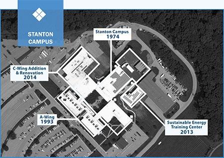 stanton campus map