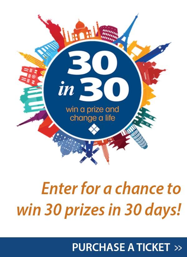 30 Prizes in 30 Days logo