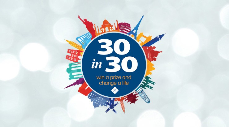 30 Prizes in 30 Days logo