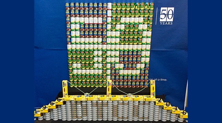 50th Anniversary Cans