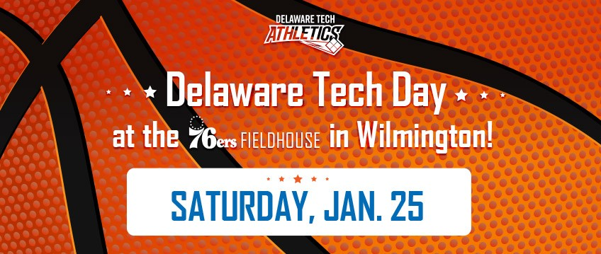 Link to free tickets to Delaware Tech Day at the 76ers fieldhouse in Wilmington, Saturday, Jan. 25.