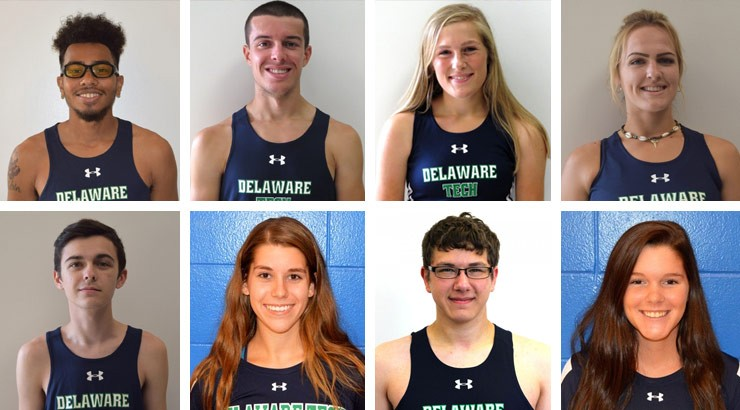 The October 2017 Delaware Tech Athlete of the Week honorees