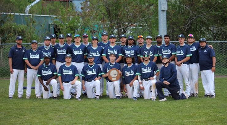 The 2021 Delaware Tech Baseball team