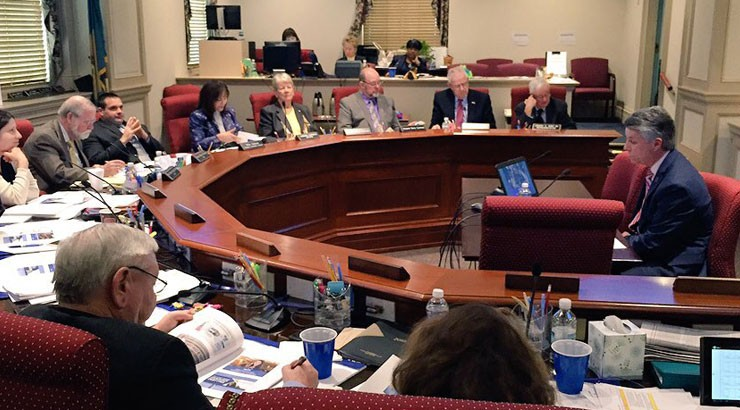On Tuesday, February 16, Delaware Technical Community College presented its Fiscal Year 2017 operating budget request to the Joint Finance Committee at Legislative Hall in Dover.