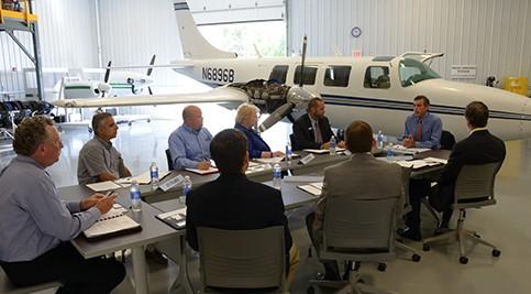 Congressman Carney Hosts Roundtables at Delaware Tech