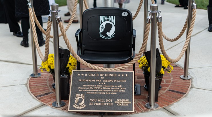 The POW/MIA Chair of Honor