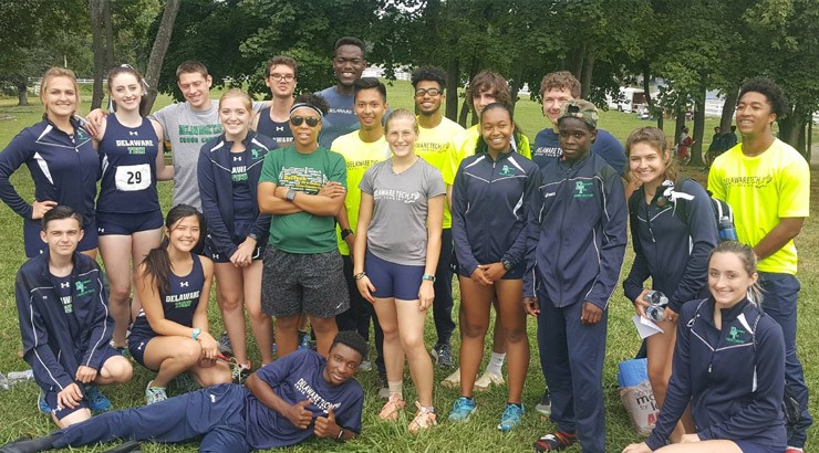 The Delaware Tech men's and women's cross country team is prepared for the 2017 NJCAA Region 19 Cross County Championship on Saturday, Oct. 28 at White Clay Creek in Newark.