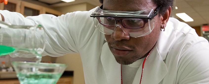 Chemistry student.