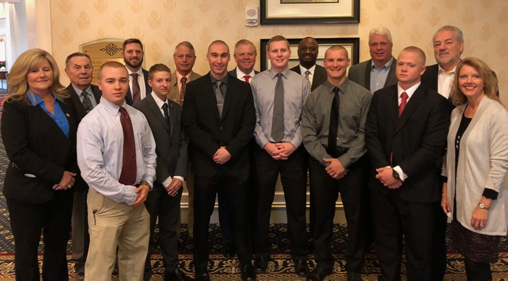 Winners of the Delaware Police Chiefs Foundation Awards Scholarships