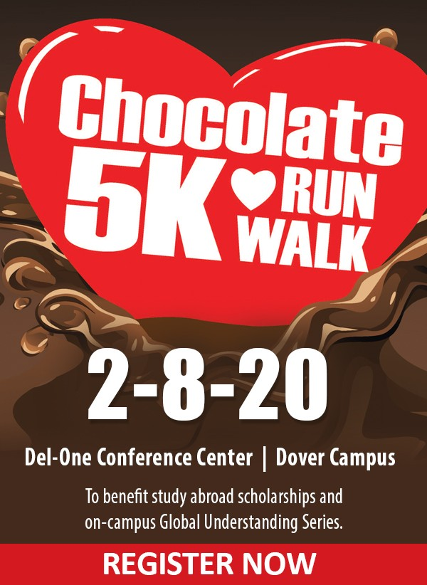 The annual Chocolate 5K Run/ Walk fundraiser