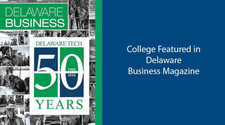 College Featured in Delaware Business Magazine