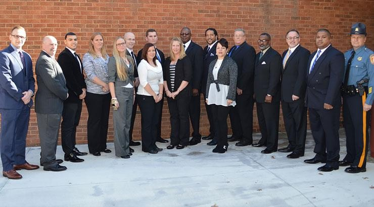 Constable Academy Graduation recipients.