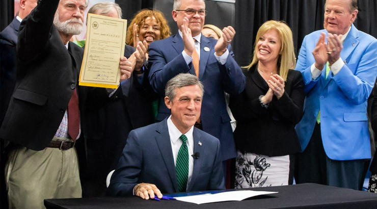 Governor signs SB50 bill.
