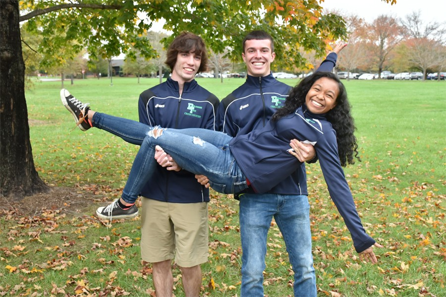 Dyce Bailey, Sean Saxton, and Aliyah Navarro