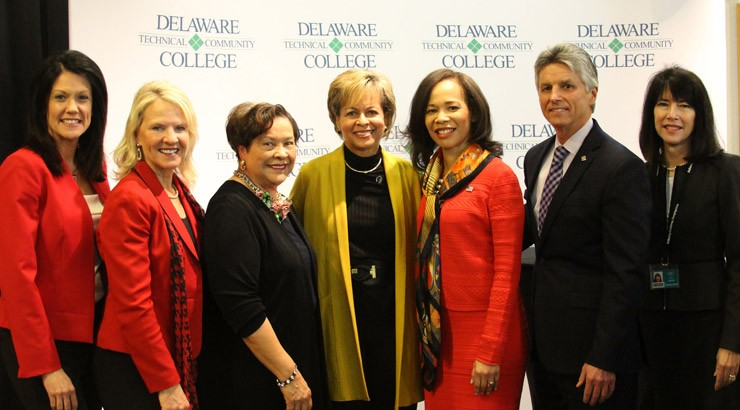 Delaware Technical Community College recognized Cynthia Primo Martin at an Honoree Celebration