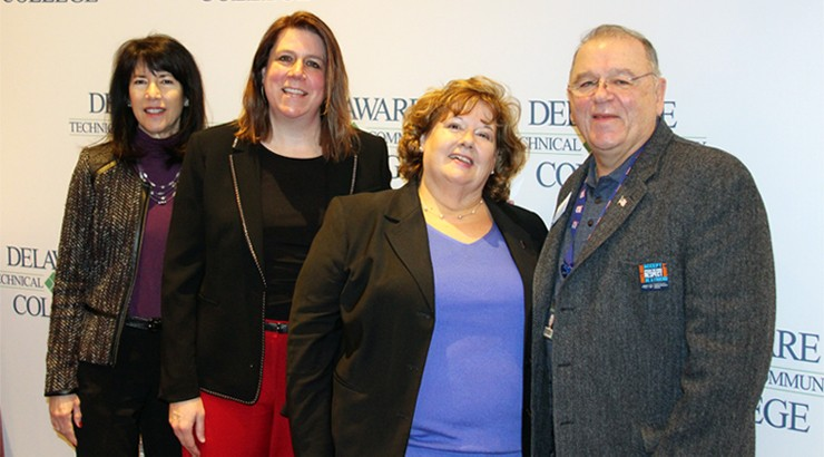 Kathy Janvier, Krista Griffiths, Patricia Dailey Lewis, and Frank Vavala