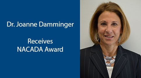 Dr. Joanne Damminger Receives NACADA Award