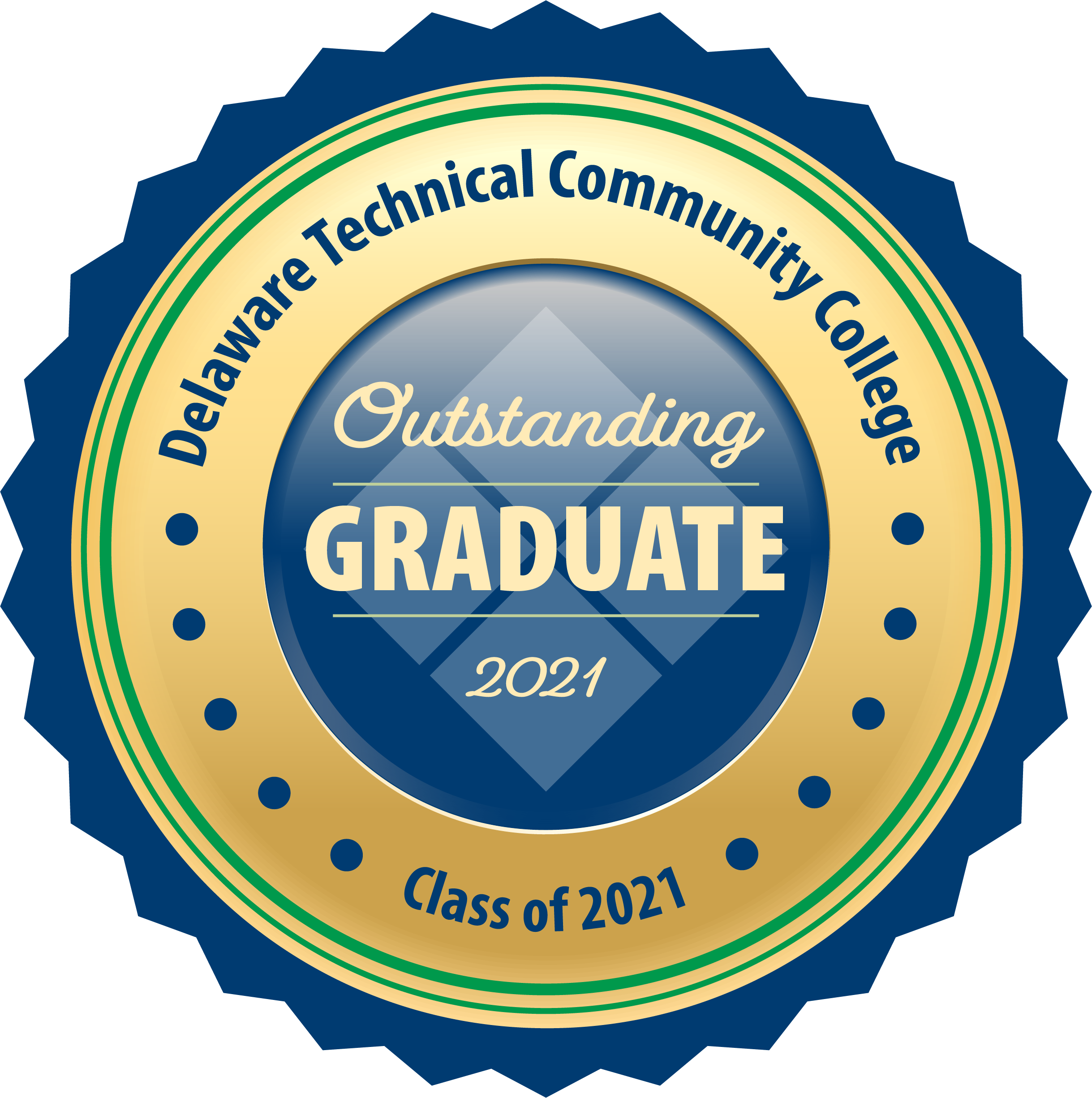 Link to Outstanding Graduate Sticker.