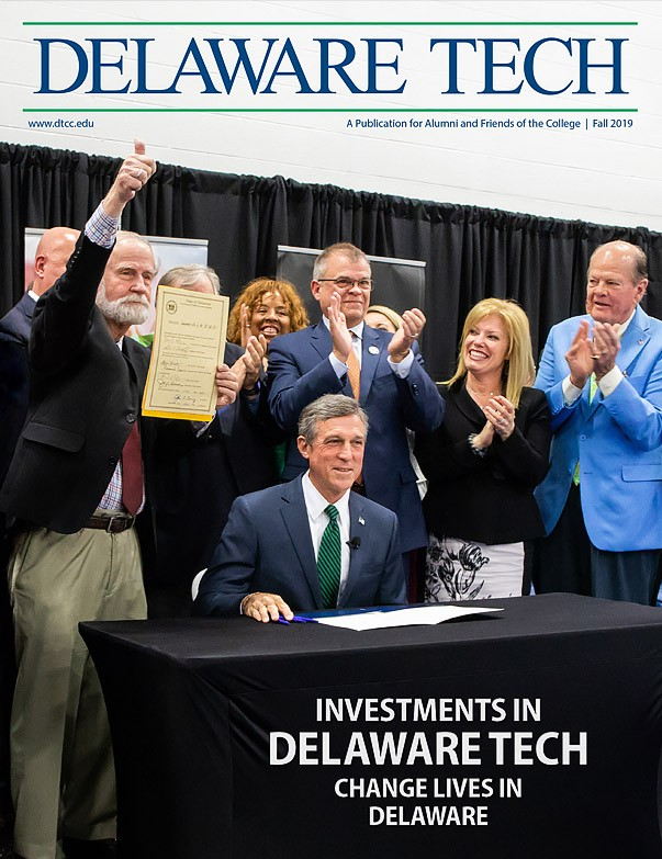 Link to Delaware Tech Magazine Fall 2019 Edition.