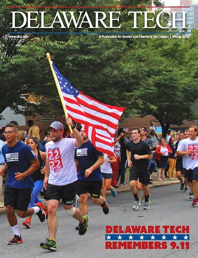 Link to Delaware Tech Magazine Winter 2018