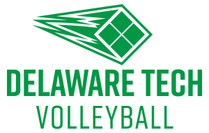 Delaware Tech's Volleyball logo
