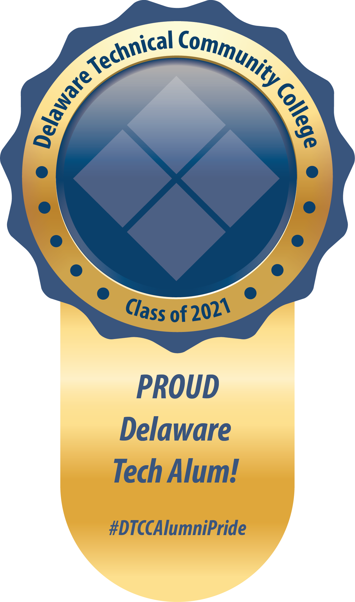 Link to Delaware Tech Alumni Sticker.