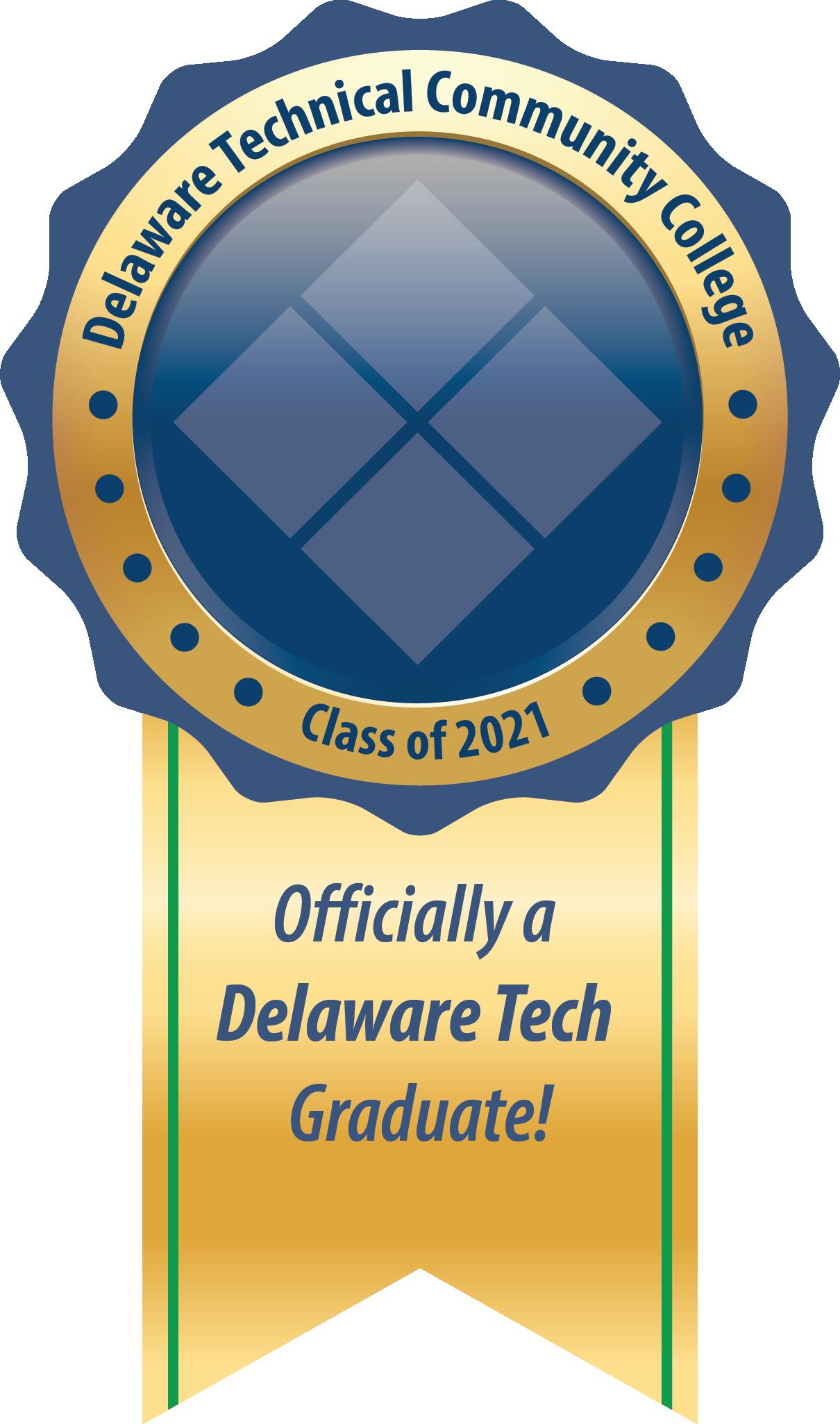 Link to Delaware Tech Grad Sticker.