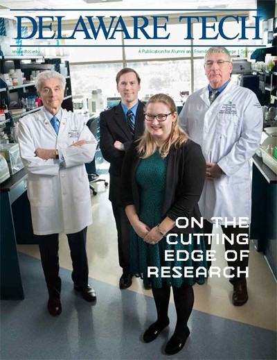 Link to Delaware Tech Magazine Spring 2018