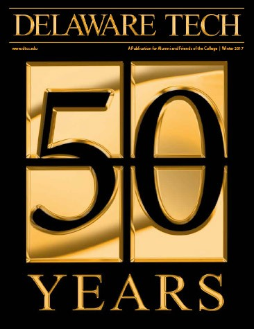 Link to Delaware Tech Magazine 50 Years