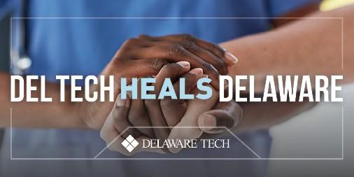 Del Tech Heals Delaware Twitter graphic