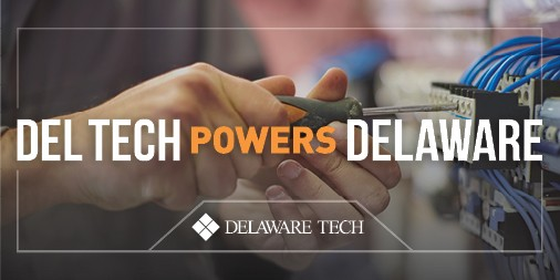Del Tech Powers Delaware Twitter graphic