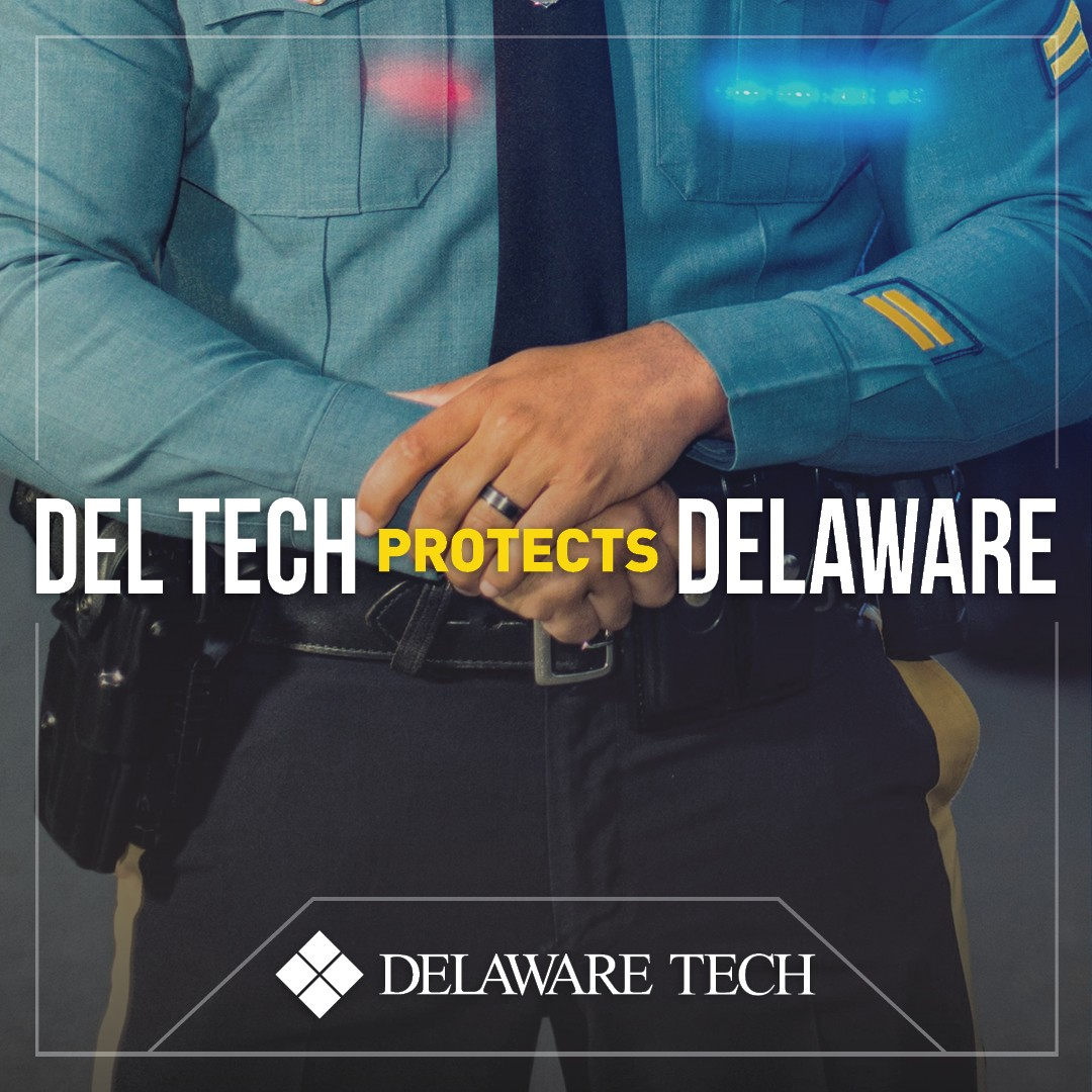 Del Tech Protects Delaware Facebook Instagram and LinkedIn graphic