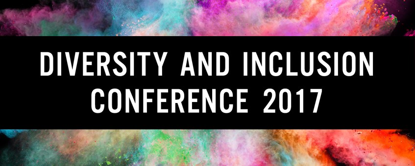 Diversity and Inclusion Conference 2017 promotional graphic