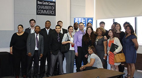 Group of entrepreneurship students who participated in the 2013 Entrepreneurship Business Plan Competition