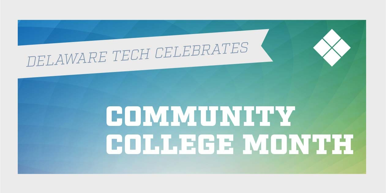 Facebook graphic for Delaware Tech Community College month