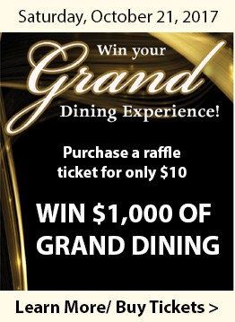 Gourmet Gala Grand Dining Experience homepage ad
