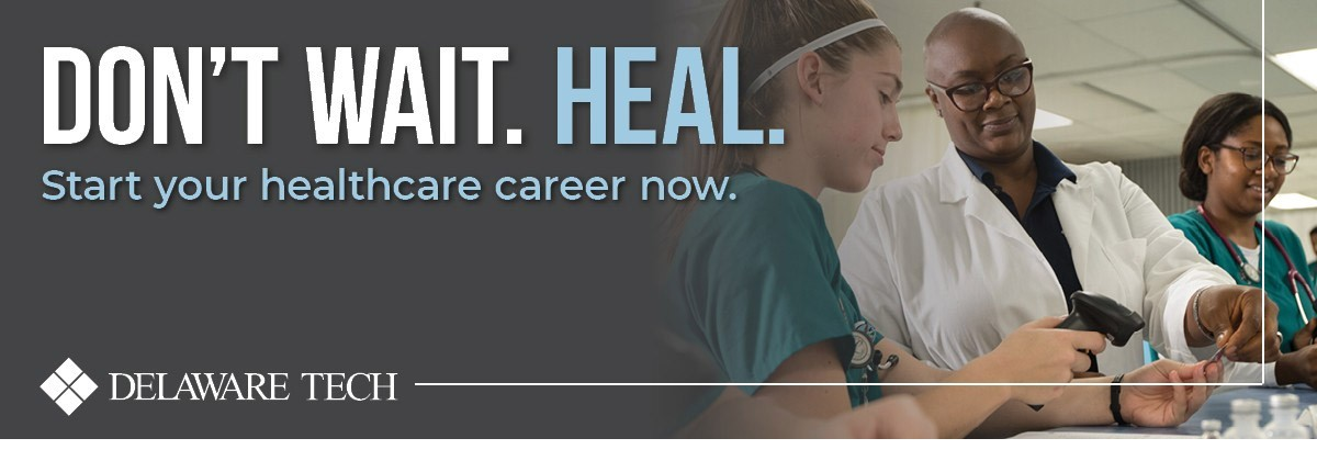 Don't wait. Heal. Start your healthcare career now!