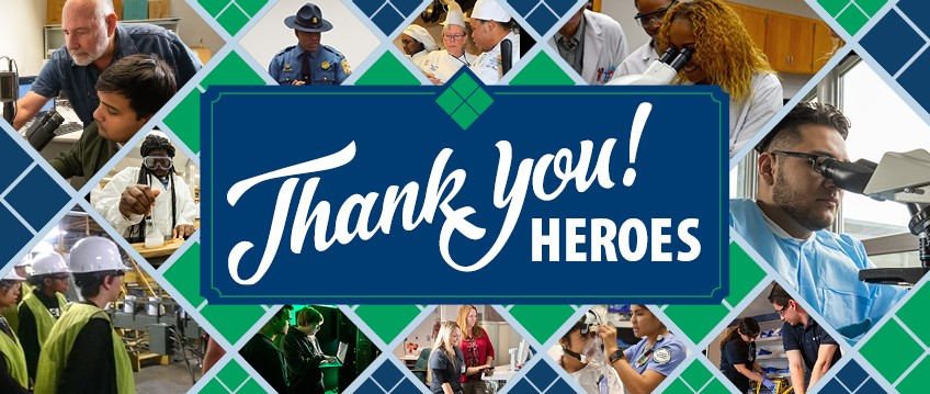Thank you Heroes! Link to Alumni success stories.