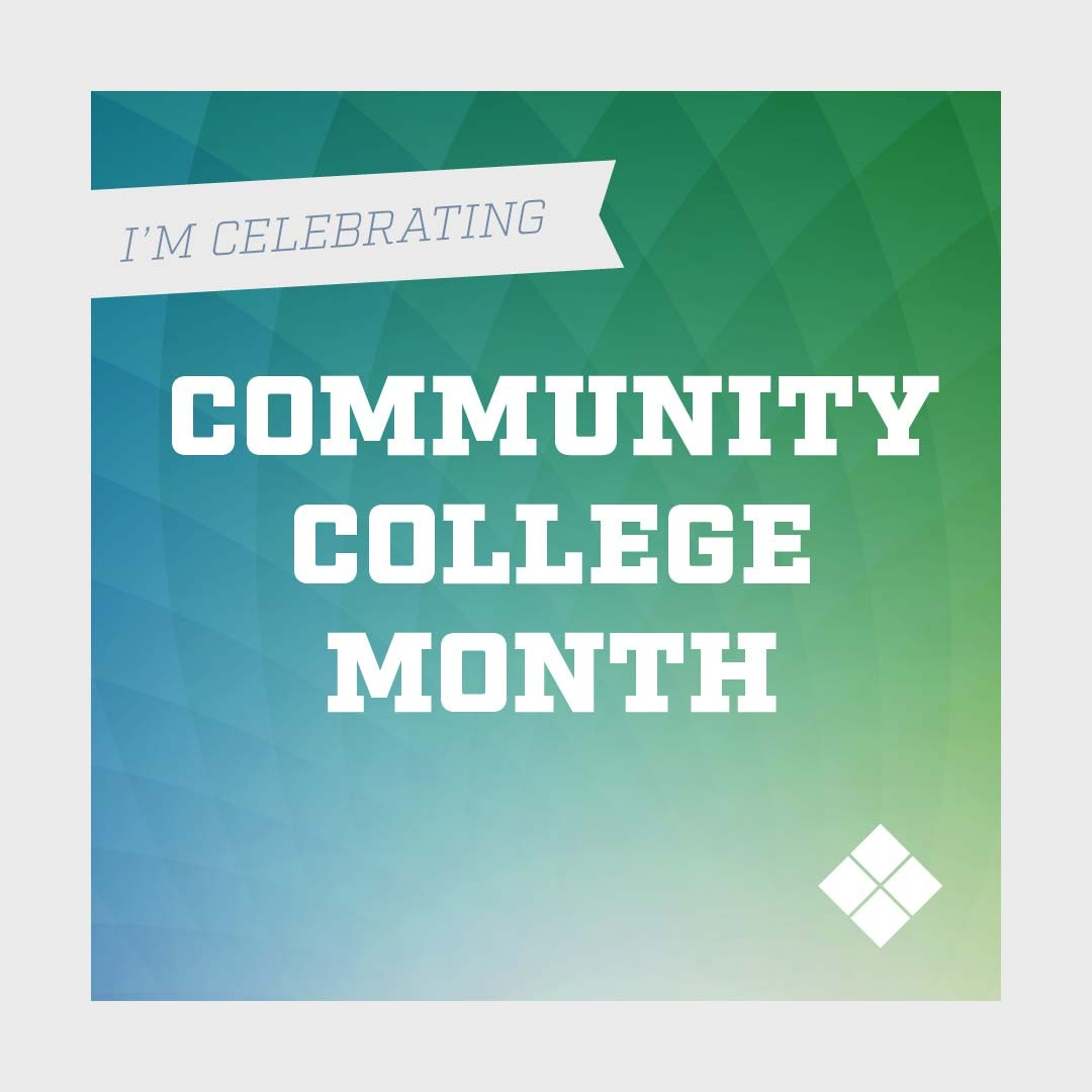 Instagram graphic for Delaware Tech Community College month