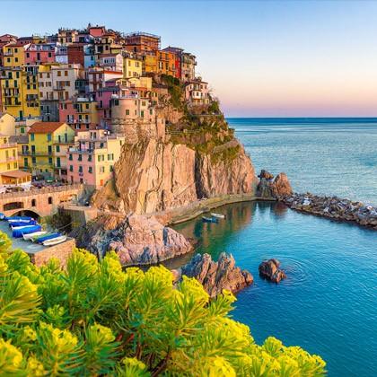 Italian coast.