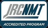 "JRCNMT Accredited Program"""