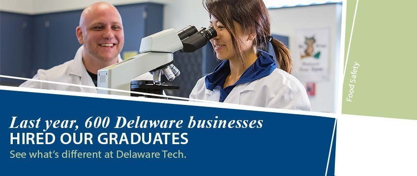 Last year, 600 Delaware businesses hired our graduates - link to see what's different at Delaware Tech