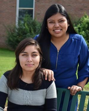 Vanessa Ortiz and Abigail Castaneda