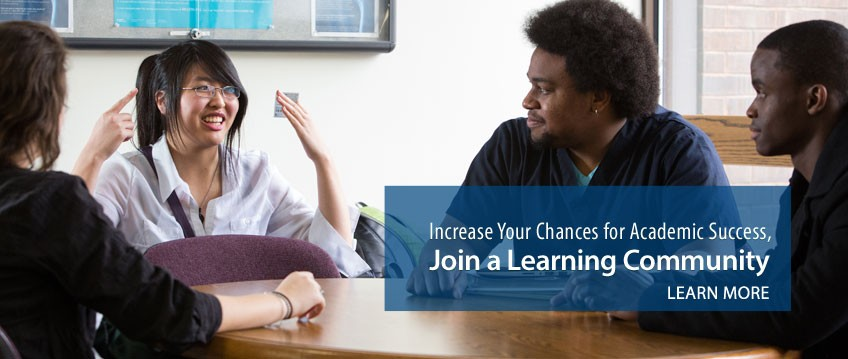 Join a Learning Community - Link to information.
