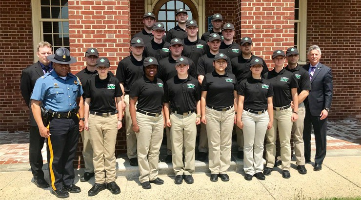 Law Enforcement Option students