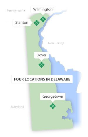Delaware Tech Locations