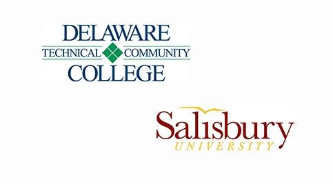 Delaware Tech and Salisbury University logo