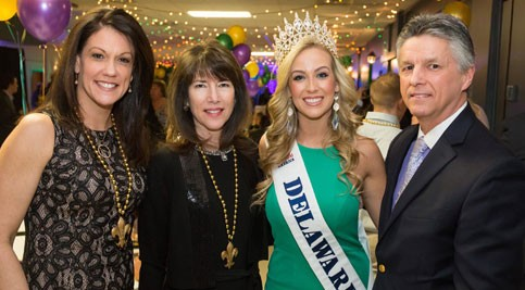 Assistant Campus Director Dr. Lora A. Johnson, Vice President and Campus Director Dr. Kathy A. Janvier, Miss Delaware World Taylor DeMario, College President Dr. Mark T. Brainard