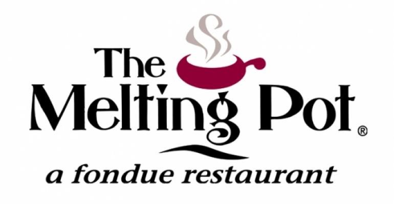 Link to The Melting Pot - a fondue restaurant.